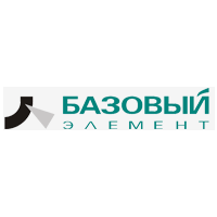 Логотип компании «Базовый элемент»