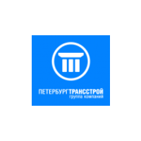 Логотип компании «Петербургтрансстрой»