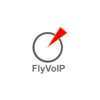 Логотип компании «FlyVoIP Inc.»