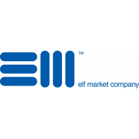 Логотип компании «Эльф Маркет»