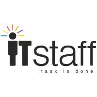 Логотип компании «IT Staff»