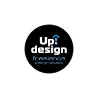 Логотип компании «Дизайн-студия Up-deign: дизайн фриланс, фотосъемка»