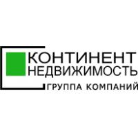 Логотип компании «Континент-недвижимость»