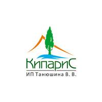Логотип компании «ИП Танюшина В.В. КипариС - вертикальный сад в Волгограде»