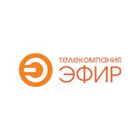 Логотип компании «Телекомпания Эфир»