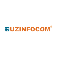 Логотип компании «UZINFOCOM»