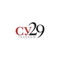 Логотип компании «СУ 29 Телеком»