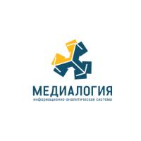 Логотип компании «Медиалогия»
