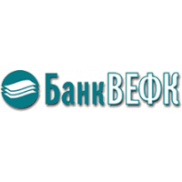 Логотип компании «Банк ВЕФК»