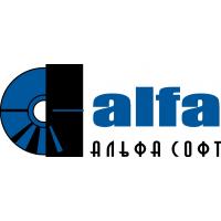 Логотип компании «Альфа-Софт»
