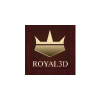Логотип компании «Royal3D»