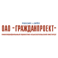 Логотип компании «Гражданпроект»