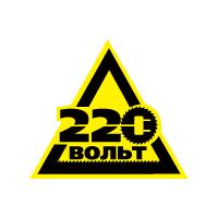 Логотип компании «220 Вольт»