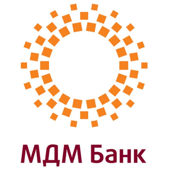 Логотип компании «МДМ Банк»