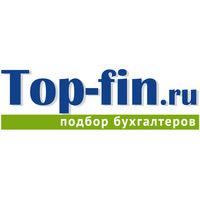 Логотип компании «TOP-FIN - агентство по подбору бухгалтеров»