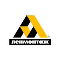 Логотип компании «Ленмонтаж»