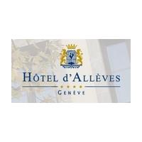 Логотип компании «Hotel D'Alleves»