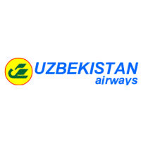 Логотип компании «АП Uzbekistan Airways Technics (UAT)»