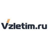 Логотип компании «VZLETIM.RU»