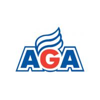 Логотип компании «AGA»