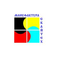 """Логотип компании «Рекламное Агентство """"Мануфактура СКАЙТЕХ""""»"""