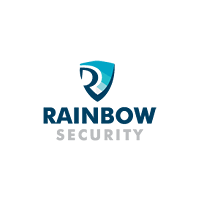 Логотип компании «Rainbow Security»
