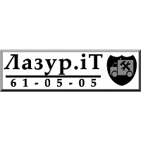 Логотип компании «Лазурит»