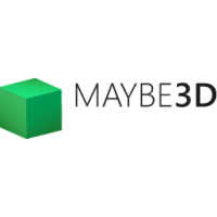 Логотип компании «Maybe3D»