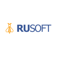 Логотип компании «РуСофт»