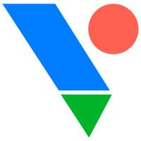 Логотип компании «VIS.center»