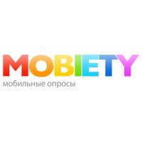 Логотип компании «Mobiety - мобильные опросы»