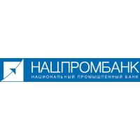 Логотип компании «НАЦПРОМБАНК»