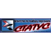 Логотип компании «Агентство по подбору персонала Статус»