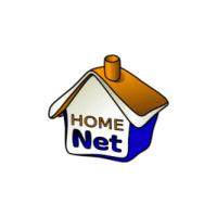 Логотип компании «HomeNet»