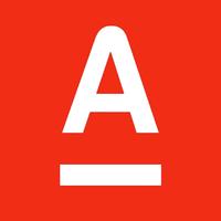 Логотип компании «Альфа Банк»