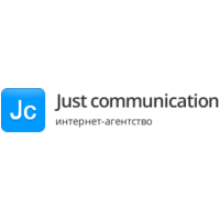 Логотип компании «Just communication»