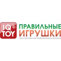 Логотип компании «IQ TOY Правильные игрушки»