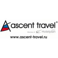 Логотип компании «Асент Трэвел»
