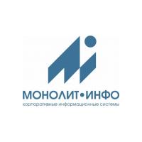 Логотип компании «Монолит-Инфо»
