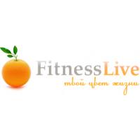 Логотип компании «FitnessLive»