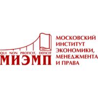 Логотип компании «Московский Институт Экономики, Менеджмента и Права (МИЭМП)»