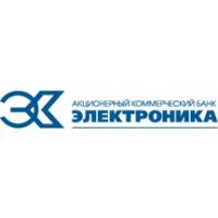 "Логотип компании «АКБ ""Электроника"" ОАО»"