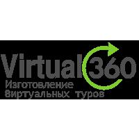 Логотип компании «Virtual360»