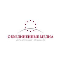 Логотип компании «Объединенные Медиа»
