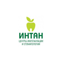 Логотип компании «ИНТАН Центры Имплантации и Стоматологии»
