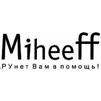 Логотип компании «miheeff»
