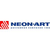 Логотип компании «Неон-арт»