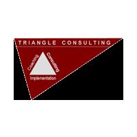Логотип компании «Triangle Consulting»