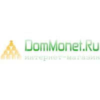 Логотип компании «ДомМонет.ру»