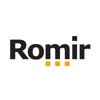 Логотип компании «РОМИР»